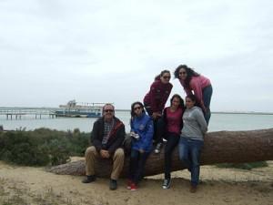 La desembocadura del Guadalquivir