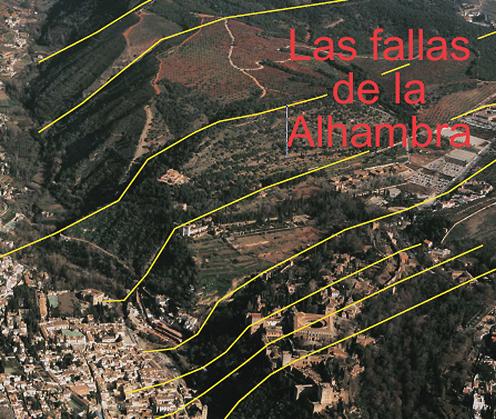 Fallas de la Alhambra