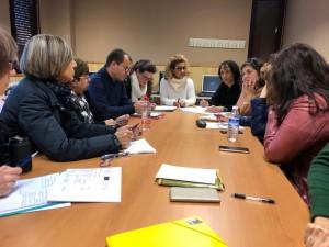Reunión de trabajo profesores