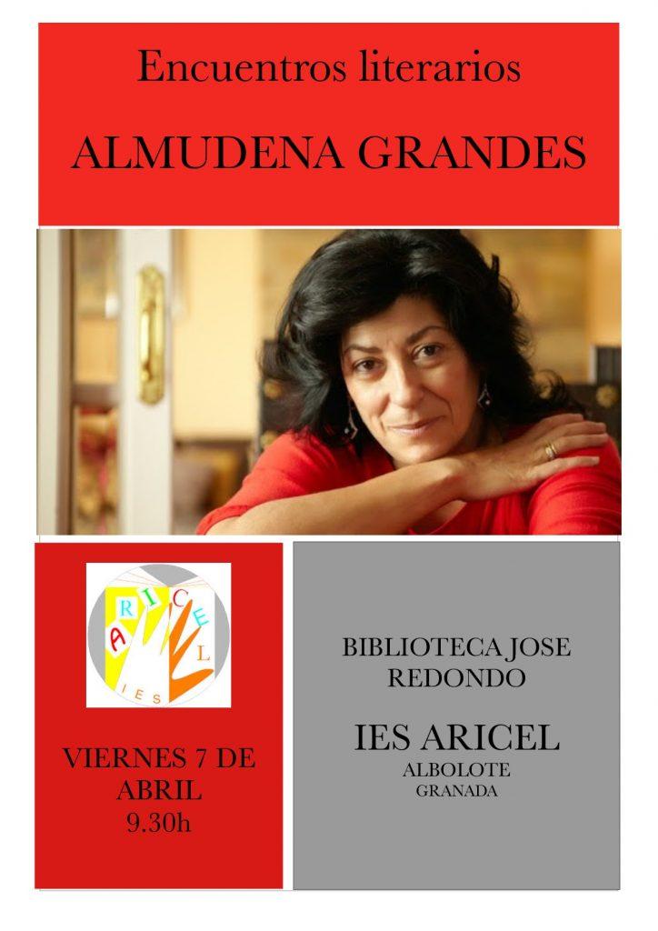 Almudena Grandes (cartel)-001
