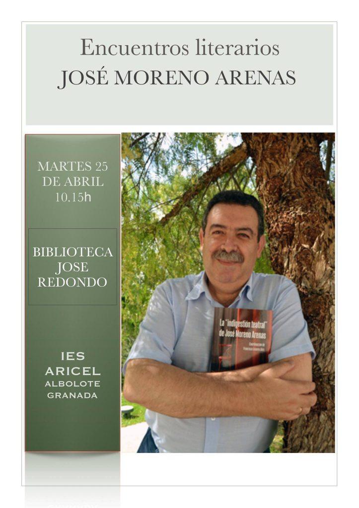 Cartel Jose Moreno Arenas