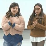 DONACIÓN ALMANAQUE SOLIDARIO 1º A IES ARICEL30