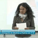 DONACIÓN ALMANAQUE SOLIDARIO 1º A IES ARICEL46